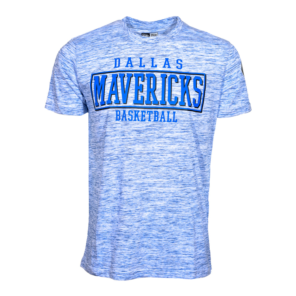 DALLAS MAVERICKS 5TH AND OCEAN BY NEW ERA SPACE DYE BBALL TEE
