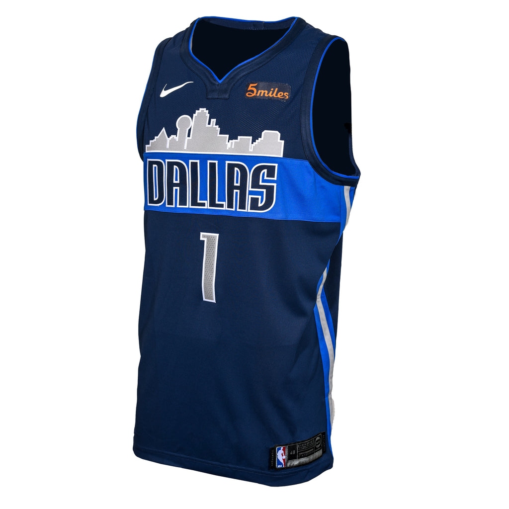 DALLAS MAVERICKS DENNIS SMITH JR NIKE STATEMENT AUTHENTIC JERSEY