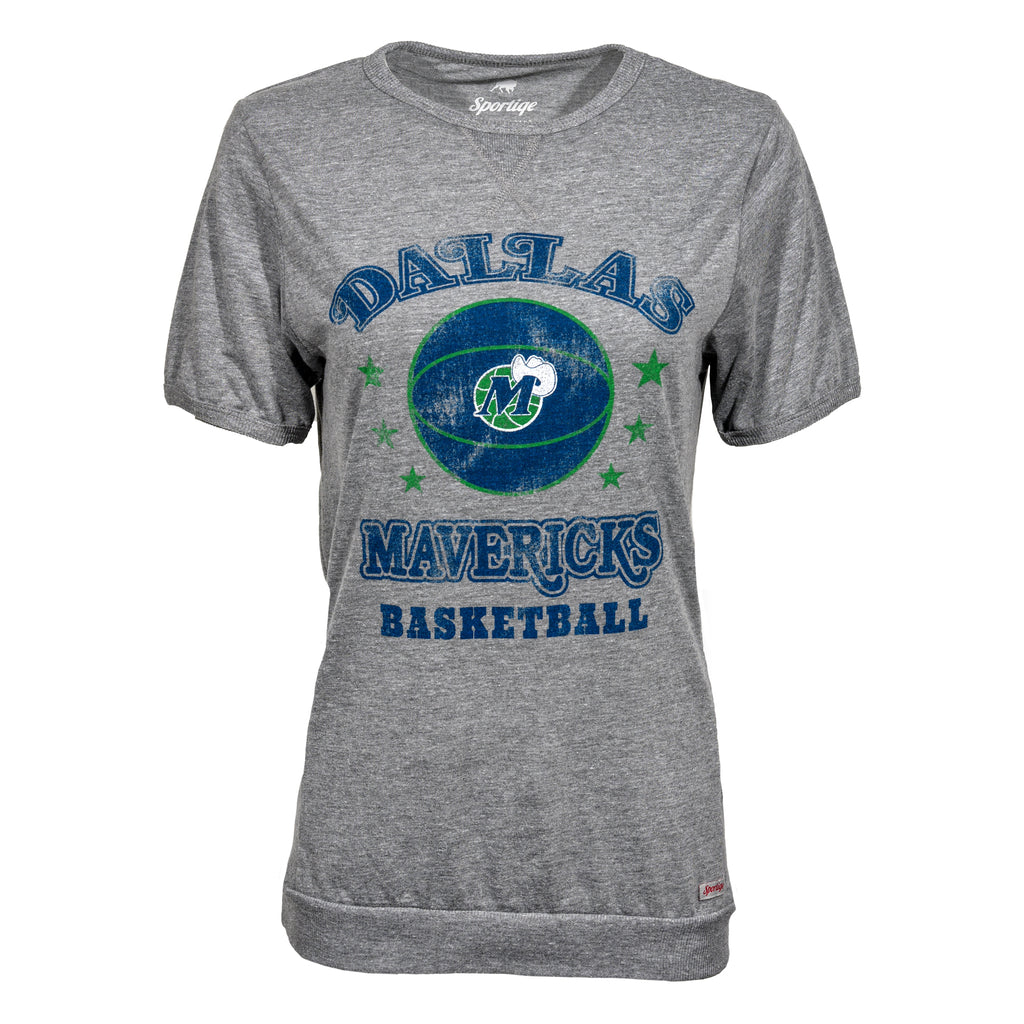DALLAS MAVERICKS WOMENS SPORTIQE DENISE SHORT SLEEVE TEE
