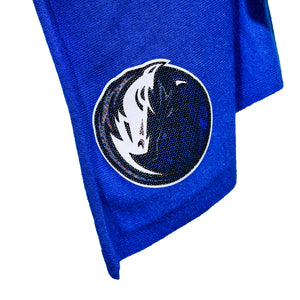 DALLAS MAVERICKS GAMEDAY COUTURE WOMENS FRINGE CARDIGAN ROYAL THATS A WRAP