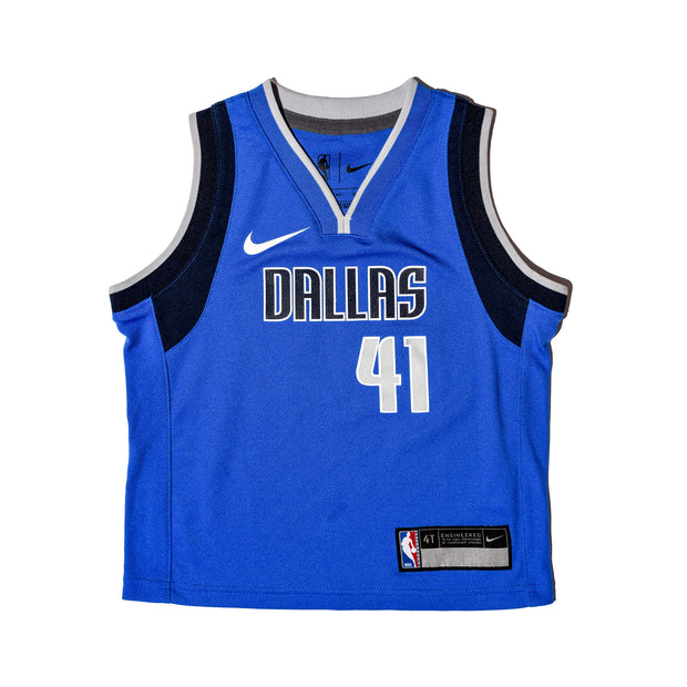 DALLAS MAVERICKS DIRK NOWITZKI TODDLER ICON JERSEY