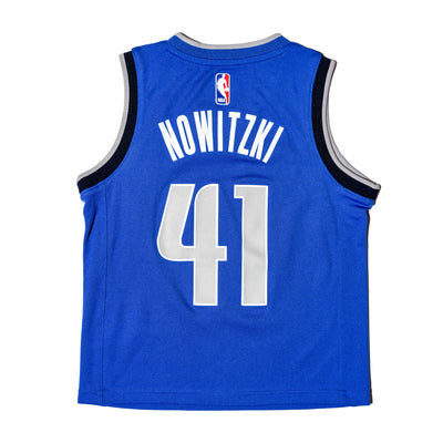 DALLAS MAVERICKS NIKE KIDS DIRK NOWITZKI ICON JERSEY