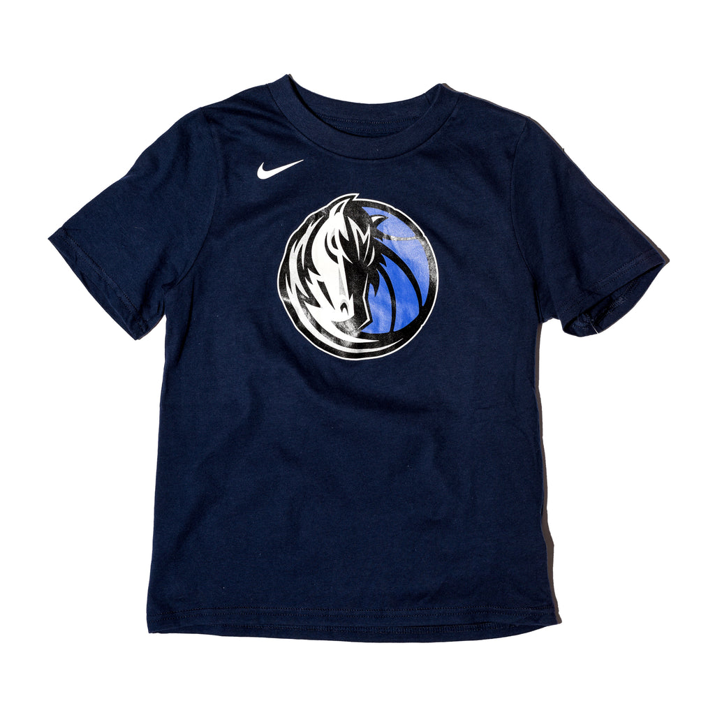 DALLAS MAVERICKS NIKE YOUTH LOGO S/S TEE NAVY