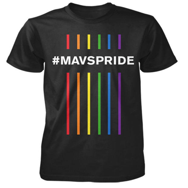 DALLAS MAVERICKS 2020 PRIDE TEE