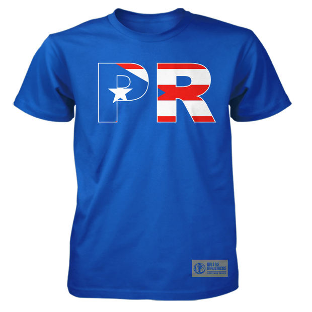 DALLAS MAVERICKS PUERTO RICAN HERITAGE 2019 TEE