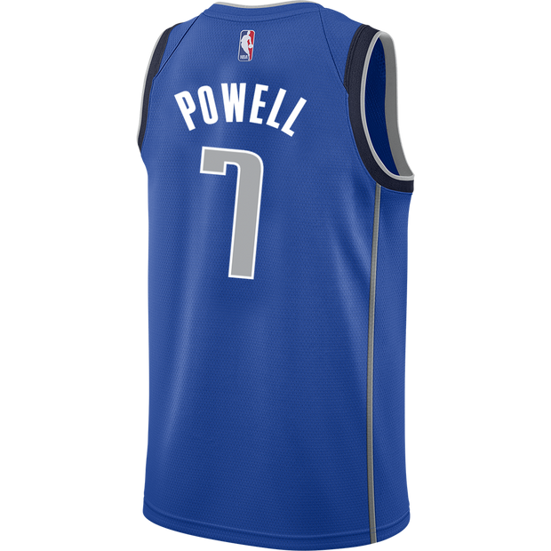 DALLAS MAVERICKS DWIGHT POWELL ICON SWINGMAN JERSEY