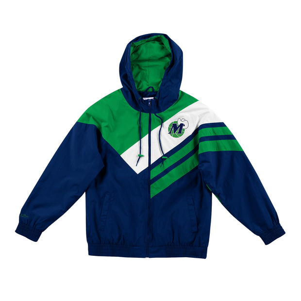 DALLAS MAVERICKS BIG & TALL HARDWOOD CLASSIC BLOCKED JACKET