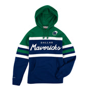 DALLAS MAVERICKS MITCHELL & NESS YOUTH HWC HEAD COACH HOODIE