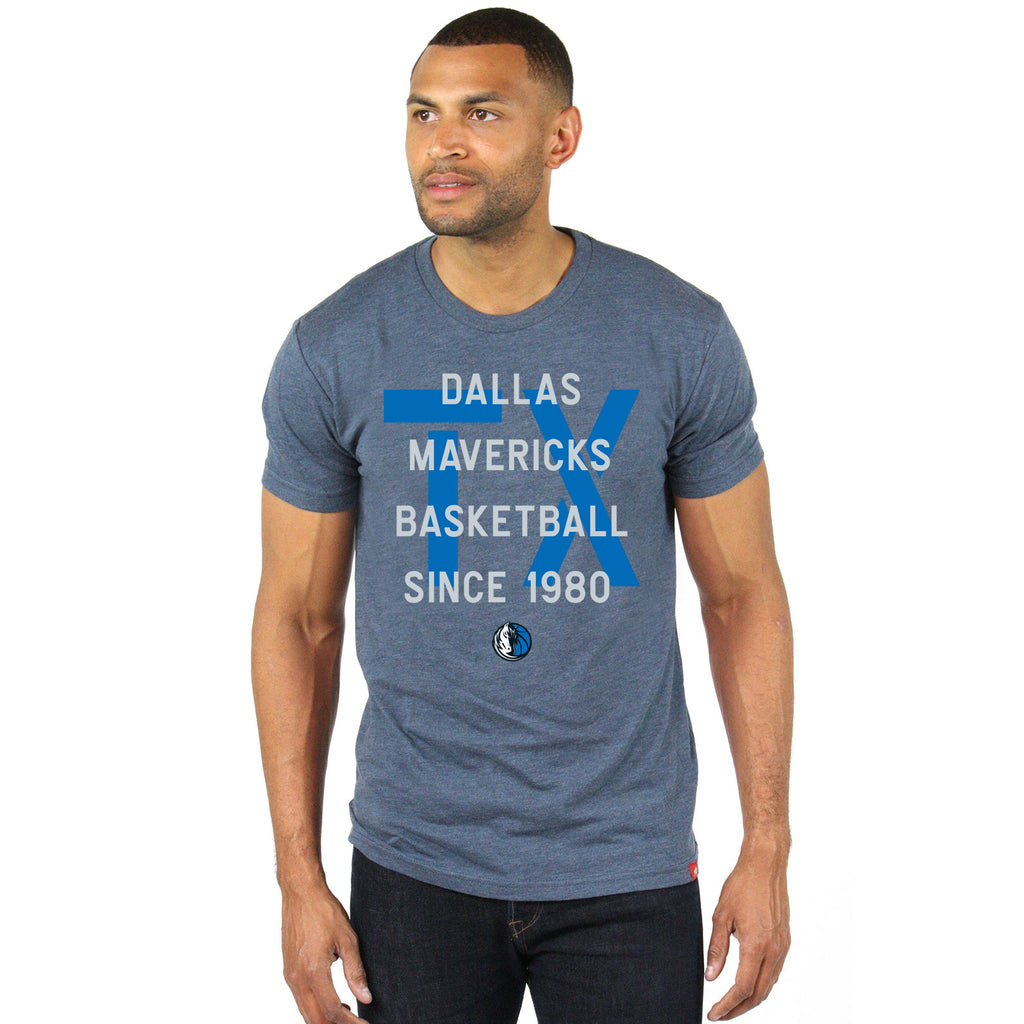 DALLAS MAVERICKS MENS SPORTIQE STOCKTON COMFY TEE