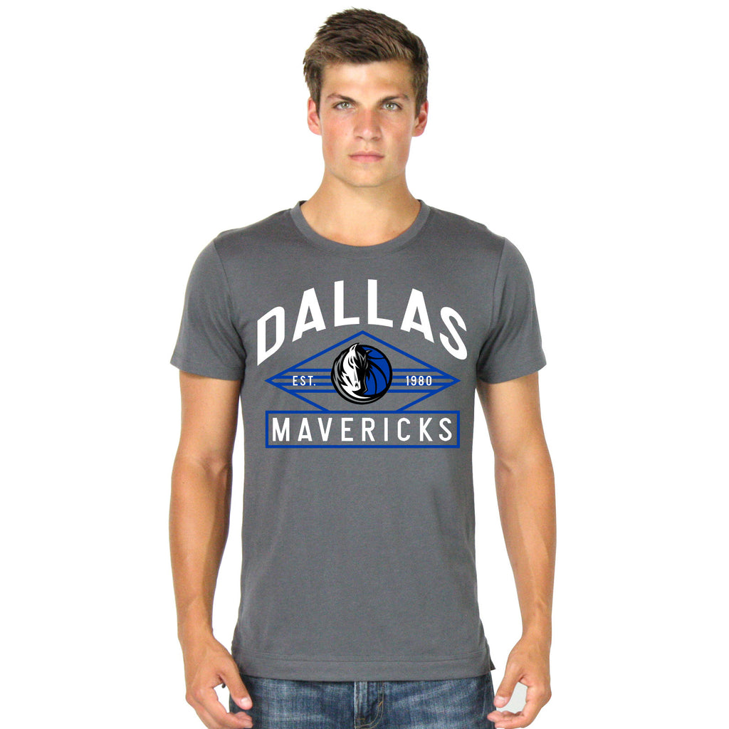 DALLAS MAVERICKS MENS SPORTIQE TUCKER LUXE TEE