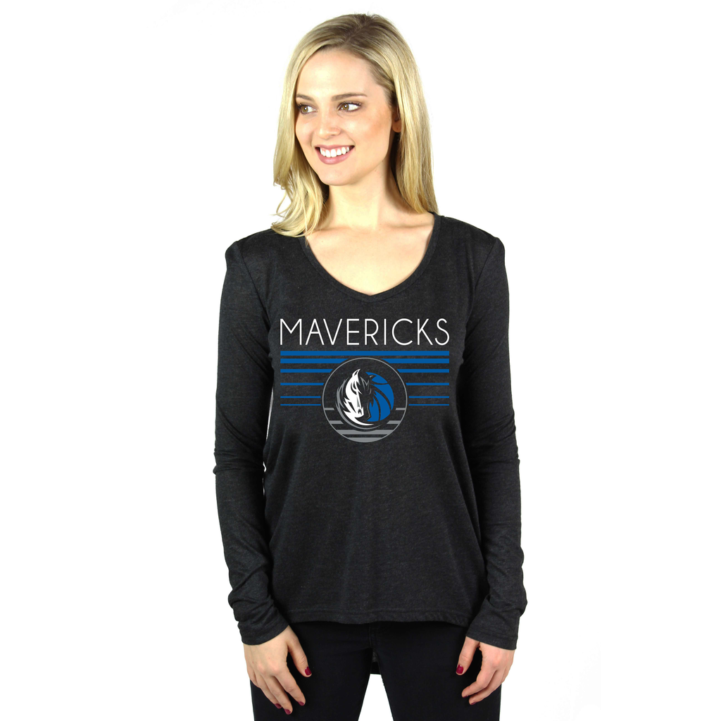DALLAS MAVERICKS WOMENS SPORTIQE BAE GIGI LONG SLEEVE TEE