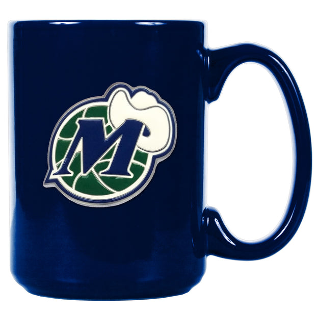DALLAS MAVERICKS 15 OZ HWC CERAMIC MUG ROYAL
