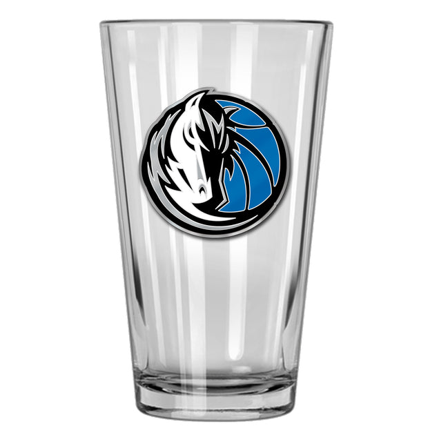DALLAS MAVERICKS 16 OZ HORSE HEAD PINT GLASS