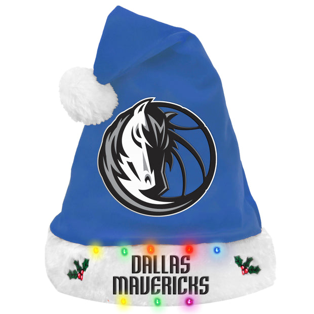 DALLAS MAVERICKS LIGHT UP SANTA HAT