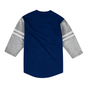 DALLAS MAVERICKS BIG & TALL HARDWOOD CLASSIC TEAM LOGO HENLEY