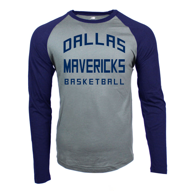 DALLAS MAVERICKS SPORTIQE FRYE JERSEY LONG SLEEVE RAGLAN