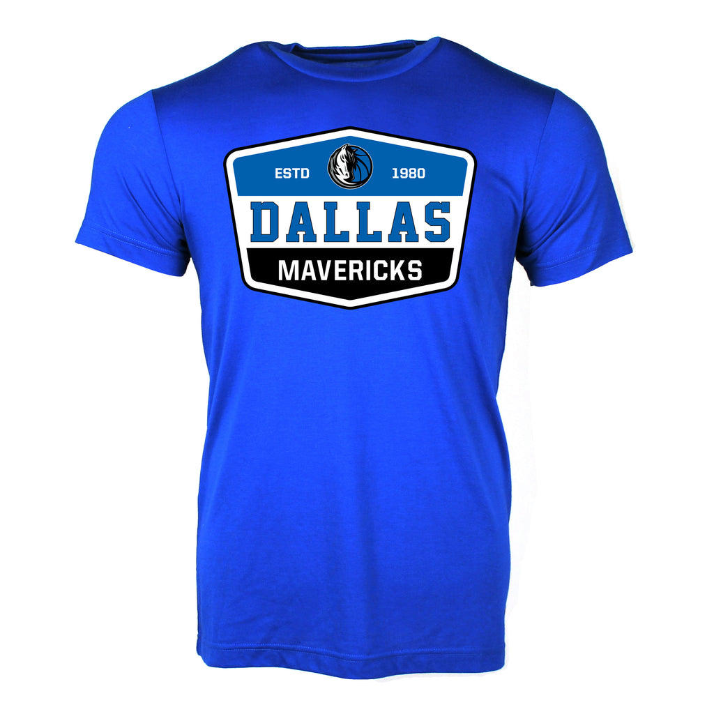 DALLAS MAVERICKS SPORTIQE FADE BARWIN TEE ROYAL