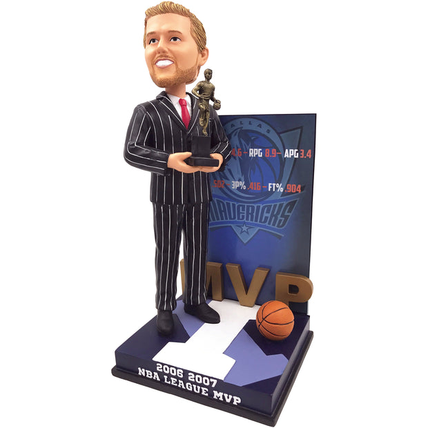 Dallas Mavericks - I - Dirk Nowitzki 2007 MVP Bobble Head