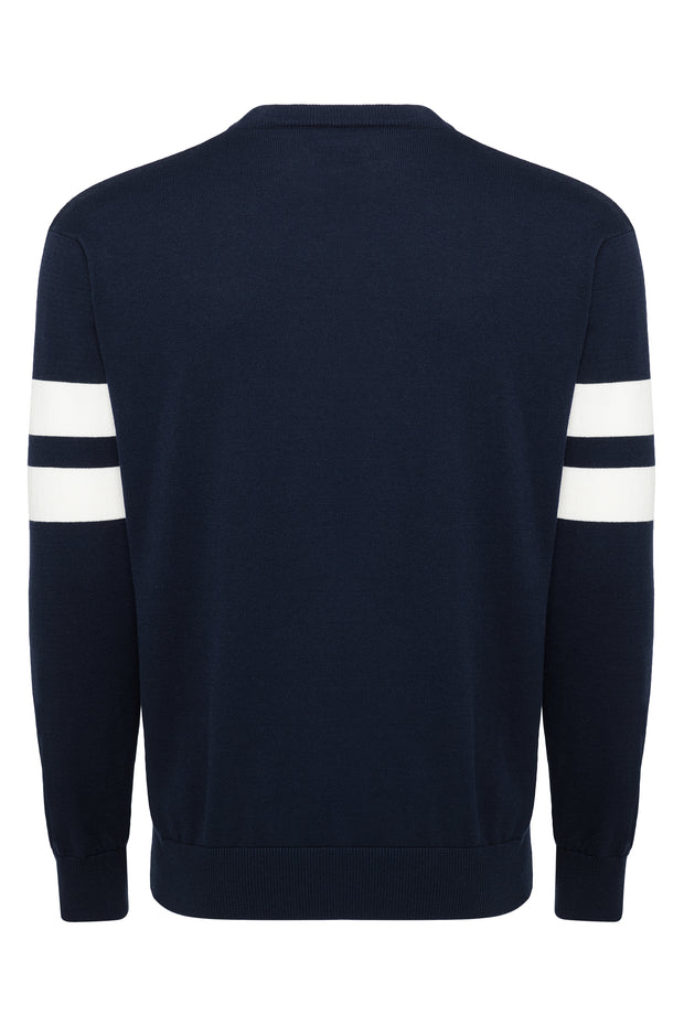DALLAS MAVERICKS SPORTIQE HWC LONG SLEEVE KNIT CREW TOP