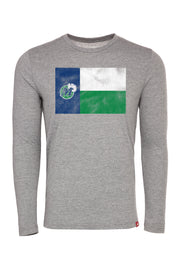 DALLAS MAVERICKS HWC TX FLAG LONG SLEEVE COMFY TEE