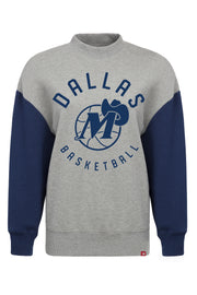DALLAS MAVERICKS SPORTIQE WOMENS HWC LONG SLEEVE TERRY CREW