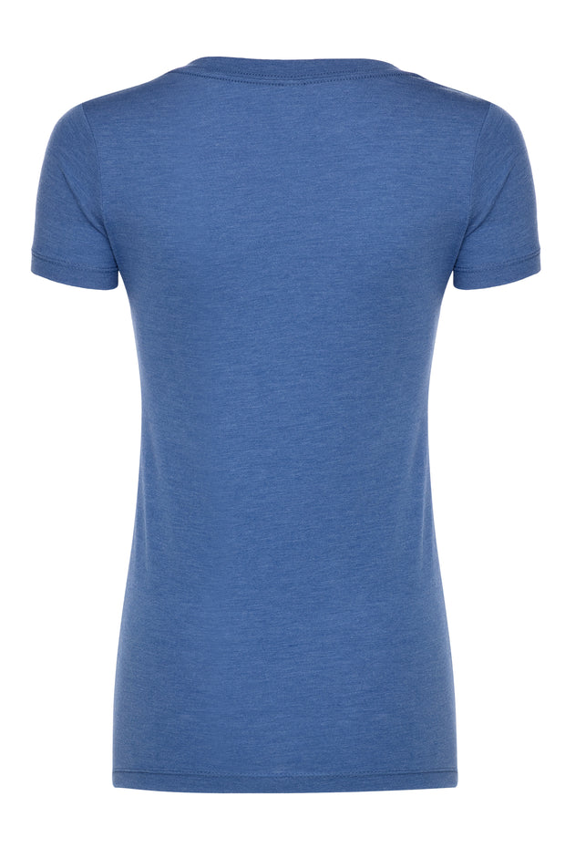 DALLAS MAVERICKS SPORTIQE HOFFMAN ABYSS V-NECK TEE