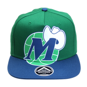 DALLAS MAVERICKS HUGE M-HAT SNAPBACK CAP