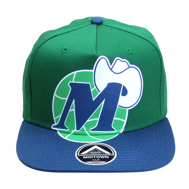 DALLAS MAVERICKS IOG HUGE MHAT SNAP CAP