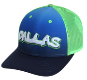 "DALLAS MAVERICKS CITY EDITION 19-20 ""DALLAS"" GRAFFITI SNAPBACK CAP"