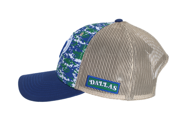 DALLAS MAVERICKS HWC DIGITAL CAMO SNAPBACK CAP