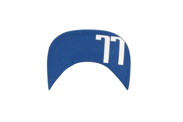 DALLAS MAVERICKS DONCIC 77 ROYAL SNAPBACK CAP