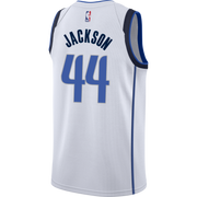 DALLAS MAVERICKS JUSTIN JACKSON ASSOCIATION SWINGMAN JERSEY