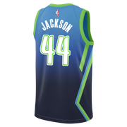 DALLAS MAVERICKS JUSTIN JACKSON CITY EDITION 19-20 SWINGMAN JERSEY