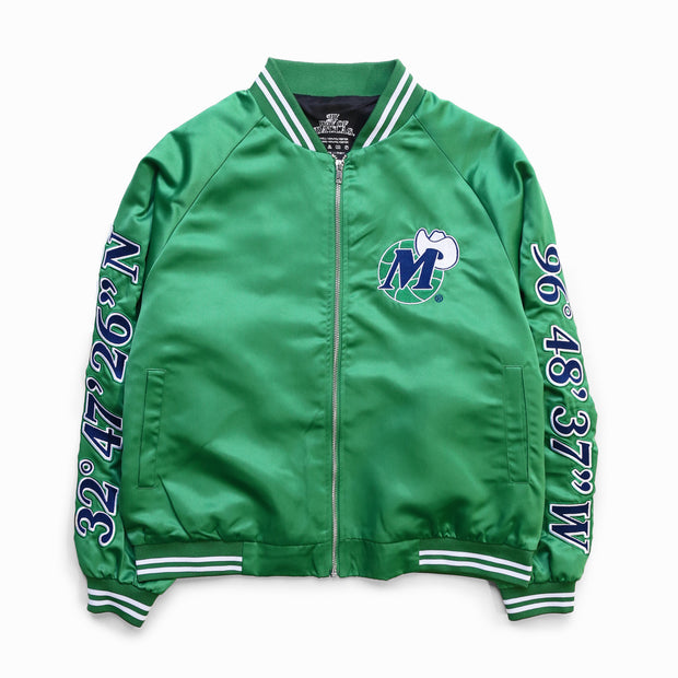 DALLAS MAVERICKS x BY WAY OF DALLAS HARDWOOD CLASSIC GREEN JACKET