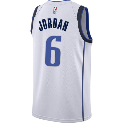 DALLAS MAVERICKS DeANDRE JORDAN NIKE ASSOCIATION SWINGMAN JERSEY