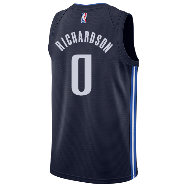 DALLAS MAVERICKS JOSH RICHARDSON 20-21 STATEMENT SWINGMAN JORDAN BRAND JERSEY