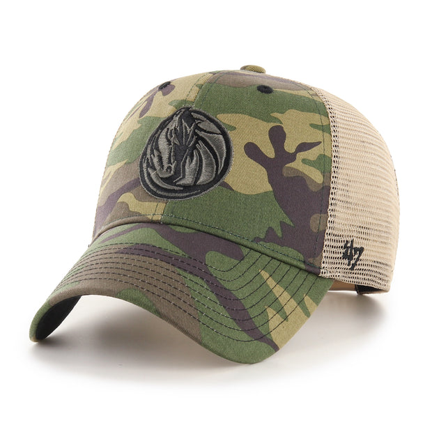 DALLAS MAVERICKS 47 BRAND BRANSON CAMO MVP CAP