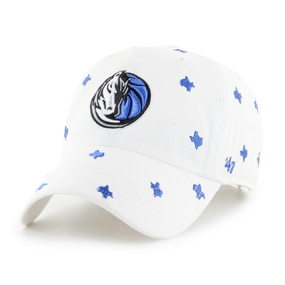 DALLAS MAVERICKS 47 BRAND WOMENS CONFETTI CAP