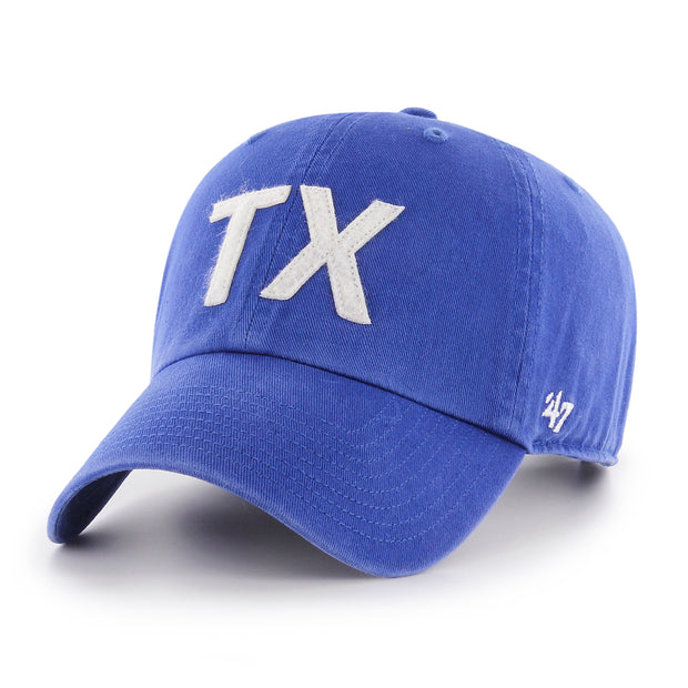 DALLAS MAVERICKS 47BRAND TEXAS FINLEY CLEAN UP CAP