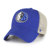 DALLAS MAVERICKS 47 BRAND HORSE HEAD FLAGSHIP WASH MESH MVP ROYAL CAP