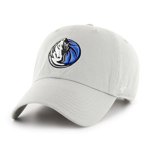 DALLAS MAVERICKS 47BRAND GRAY HH CLEAN UP CAP
