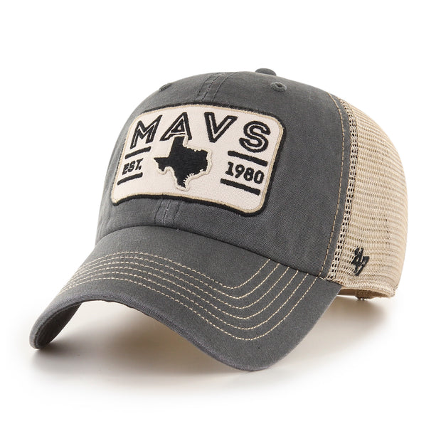 DALLAS MAVERICKS 47BRAND SALLANA CLEAN UP TRUCKER CAP