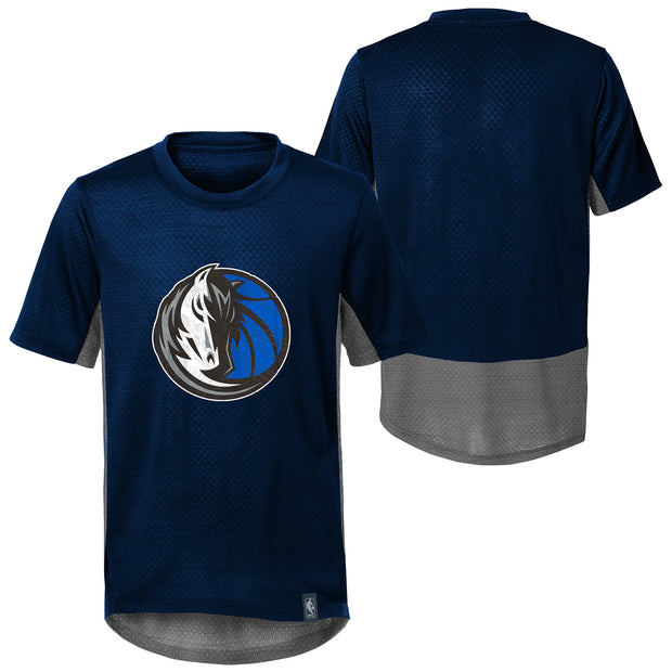 DALLAS MAVERICKS YOUTH COVERT S/S PERFORMANCE TEE