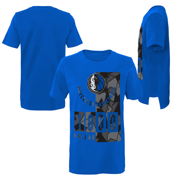DALLAS MAVERICKS YOUTH DECONSTRUCTED S/S TEE