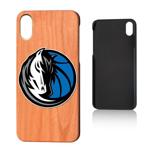 DALLAS MAVERICKS KEYSCAPER '18 WOOD IPHONE X CASE
