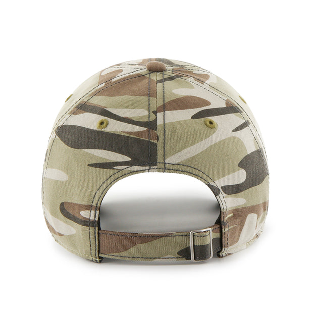DALLAS MAVERICKS 47 BRAND WOMENS CAMO ADJUSTABLE CAP