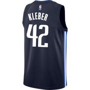 DALLAS MAVERICKS MAXI KLEBER STATEMENT SWINGMAN JERSEY