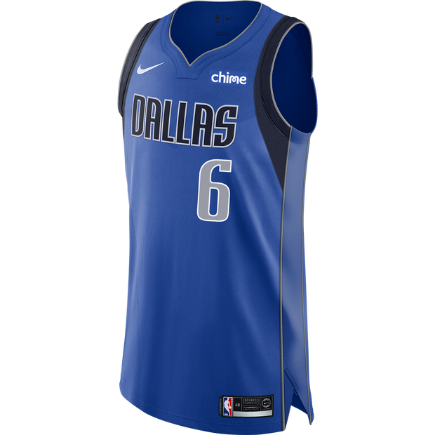 DALLAS MAVERICKS KRISTAPS PORZINGIS ICON AUTHENTIC JERSEY