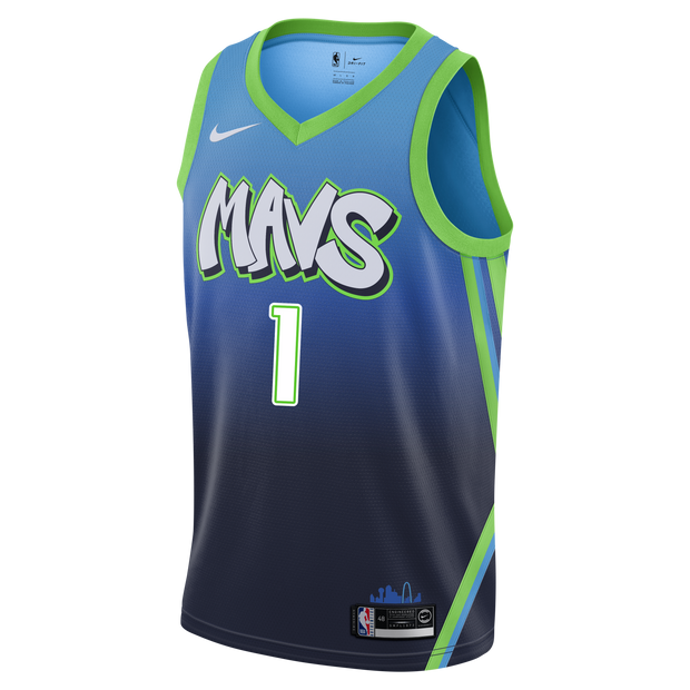 DALLAS MAVERICKS COURTNEY LEE CITY EDITION 19-20 SWINGMAN JERSEY
