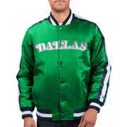 DALLAS MAVERICKS STARTER HWC O-LINE VARSITY JACKET